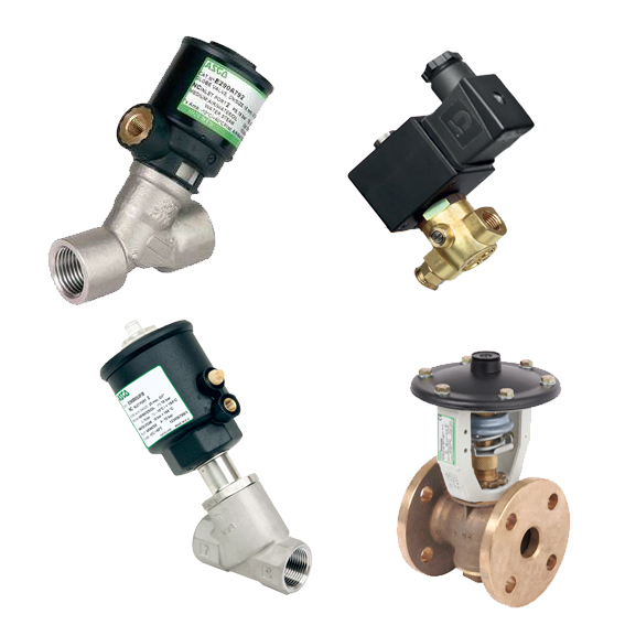 ASCO Pressure Operated Valves